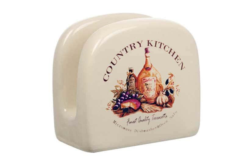 Сардиния Салфетница керамическая Terracotta из Китая в подарочной упаковке
