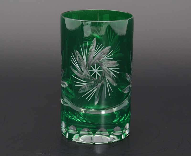 Идеал зеленый 40149 Набор стаканов для воды 150 мл (6 шт)