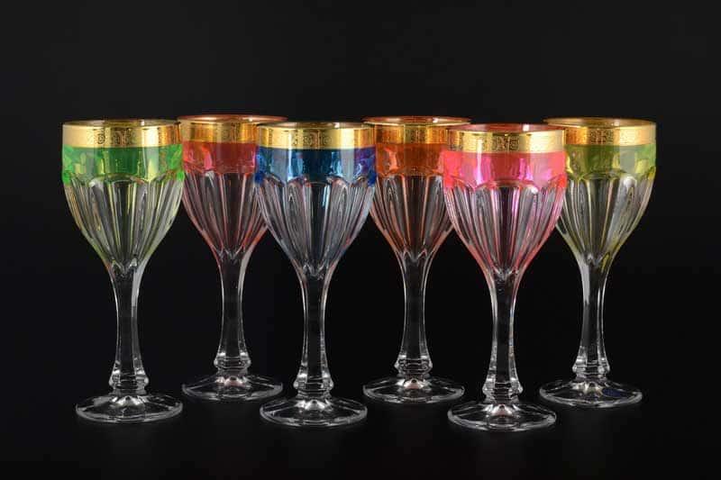 Сафари Неон B-G Набор бокалов для вина 290 мл (6 шт)