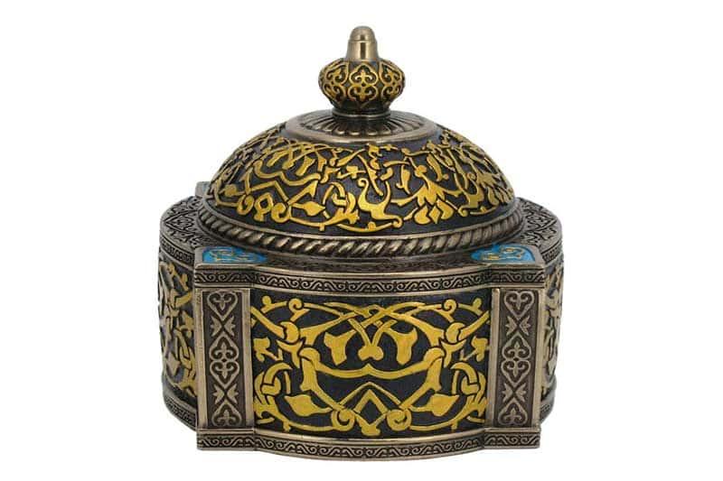 Арабеска (синяя) Шкатулка Veronese из Китая в подарочной упаковке