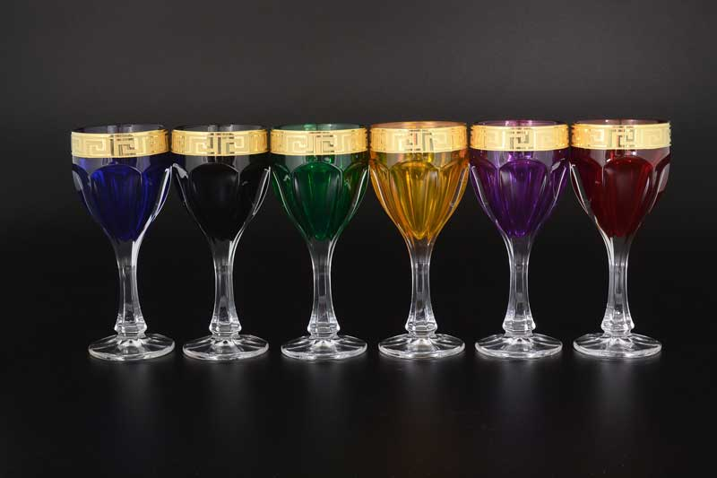 Фестиваль Костка B-G Сафари Набор бокалов для вина 190 мл (6 шт)