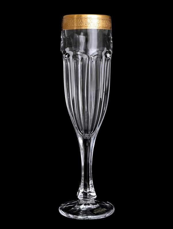 Сафари голд C-T Фужер для шампанского 150 мл Crystalite