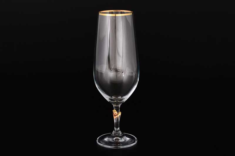 Lilly Набор фужеров для шампанского Bohemia crystal  380 мл (6 шт)