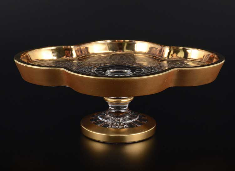 Фелиция Рулетница на ножке 24 см Sonne Crystal Золото