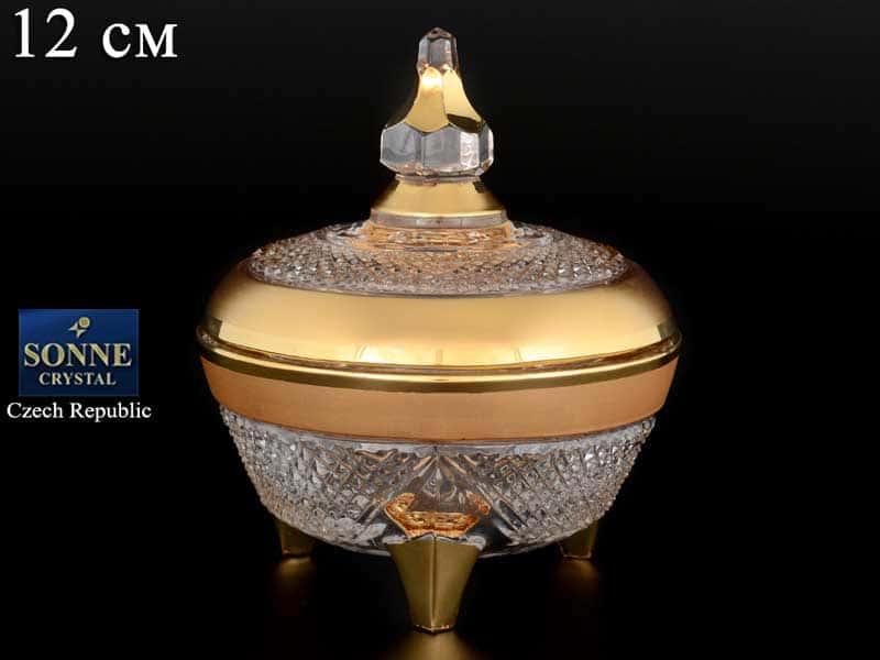 Фелиция матовая Доза 12 см  Sonne Crystal Золото