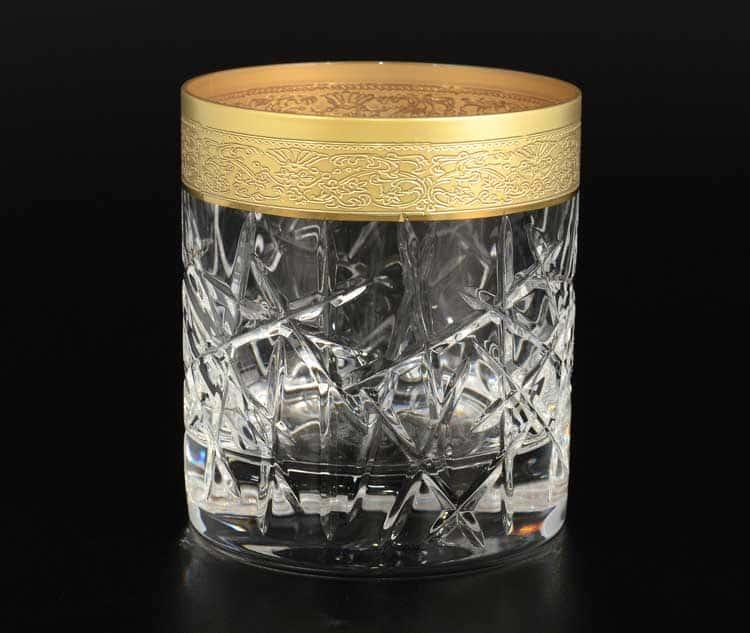 TIMON прозрачный Набор стаканов для виски  из хрусталя Италия
