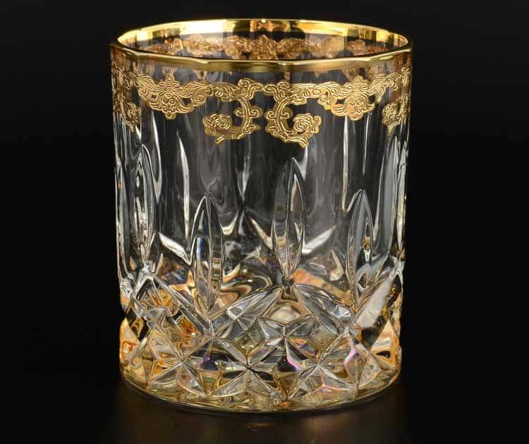 TIMON прозрачный Набор стаканов для виски хрустальные из Италии