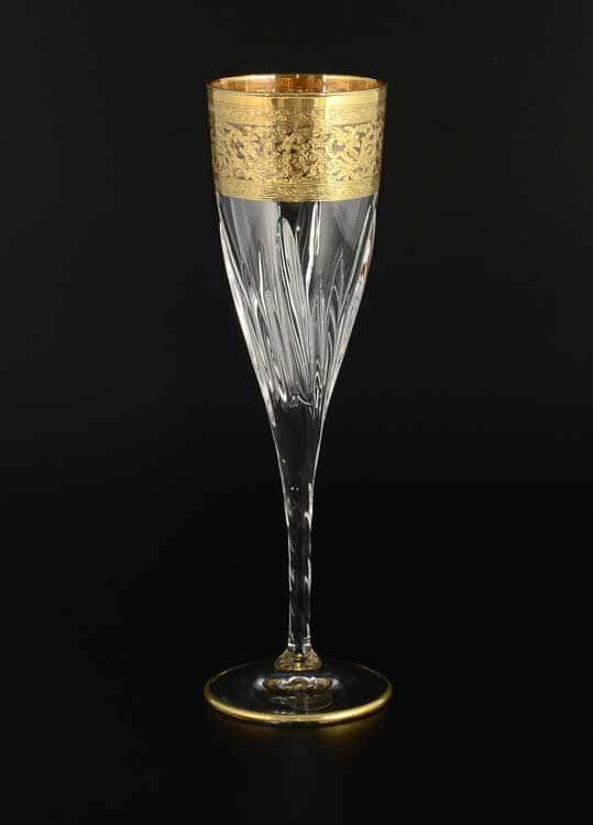TIMON прозрачный Набор фужеров для шампанского хрустальные из Италии