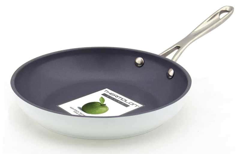 London Сковорода с керамическим покрытием белая Green Pan 20 см.