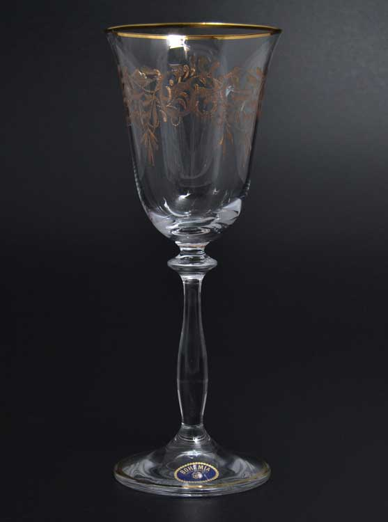 Анжела Набор бокалов для вина Bohemia 185 мл (6 шт)