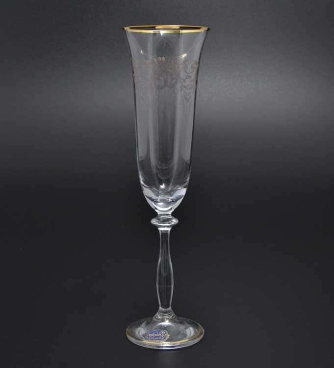 Анжела Набор фужеров для шампанского Bohemia Crystal 190 мл (6 шт)