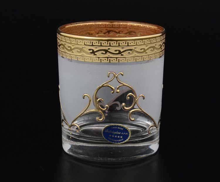 Версаче Анжела Б-Г фон Набор стаканов для виски Balvinglass
