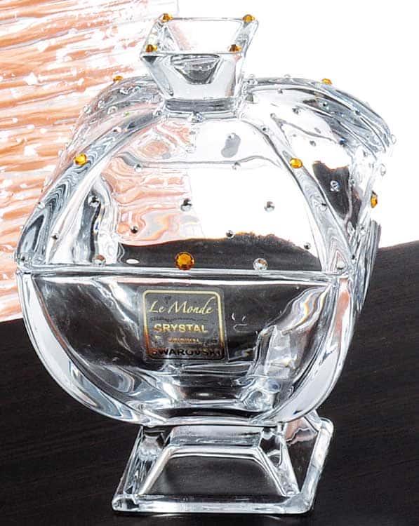 Ле Монде Ваза для конфет стеклянная 12 см.