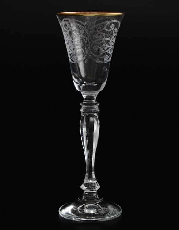 Виктория Набор рюмок для водки  Bohemia Crystal 60 мл (6 шт)