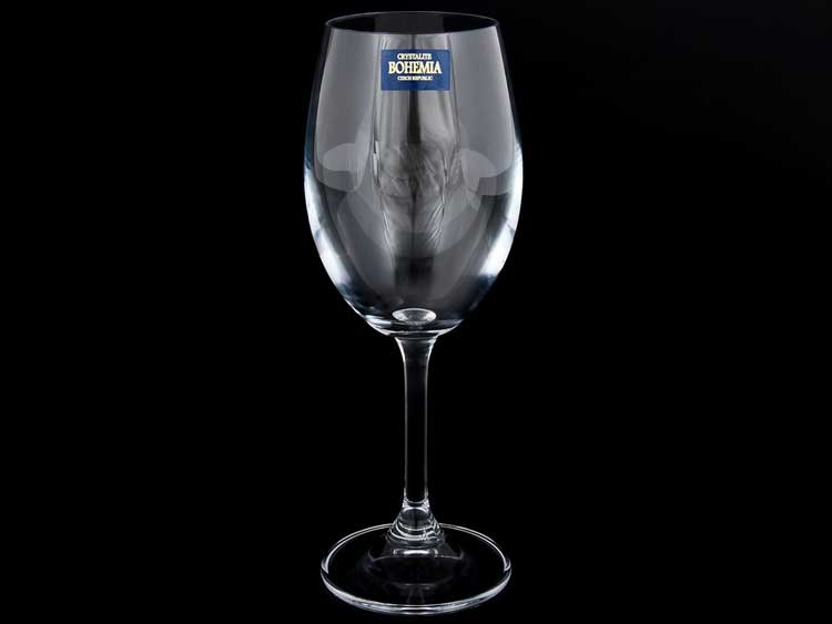 KLARA Набор бокалов для вина Crystalite Bohemia 250 мл (6 шт) 15075