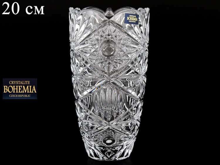 MIRANDA Ваза для цветов Crystalite Bohemia 20 см