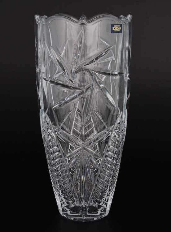 PINWHEEL Ваза для цветов Crystalite Bohemia 30 см 21742