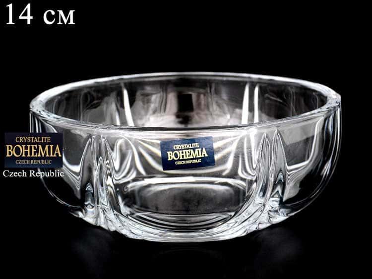 ORION Ваза для конфет Crystalite Bohemia 14 см