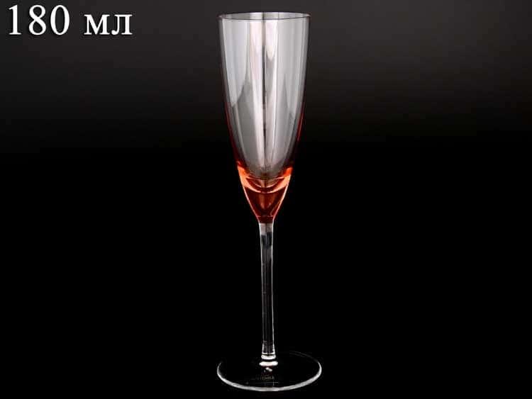Colours Фужер для шампанского Crystalite Bohemia 180 мл