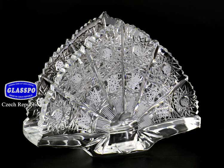 Салфетник Glasspo из хрусталя 14 см