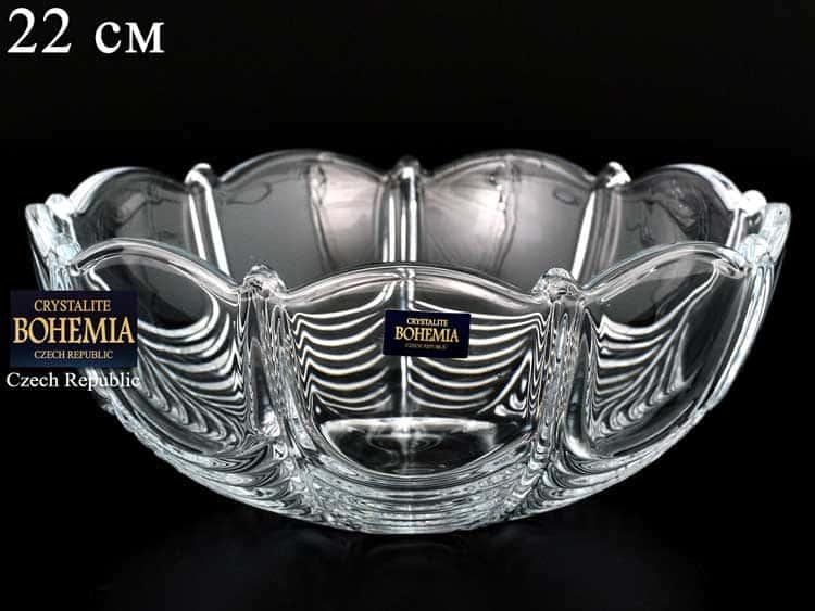 ORION Конфетница Crystalite Bohemia 22 см