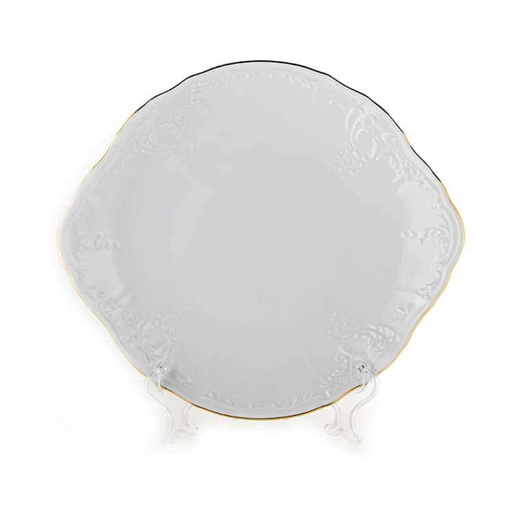 Бернадот белый 311011 Блюдо десертное 27 см
