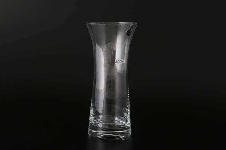 Кристалекс Недекорированное стекло Ваза для цветов иксовка Bohemia Crystal 23 см