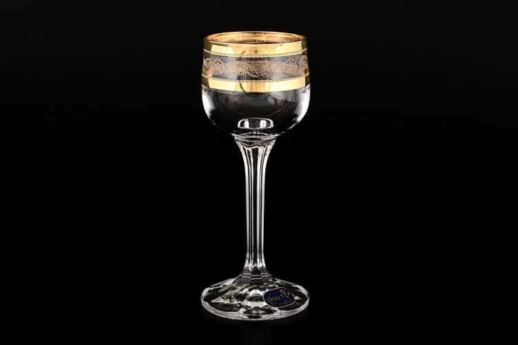 Диана QP656 Набор рюмок для водки Bohemia Crystal 60 мл (6 шт)