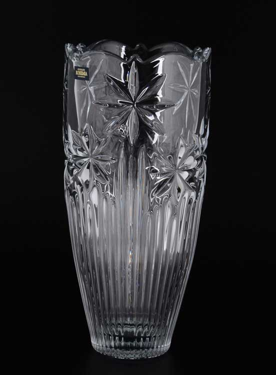 PERSEUS-NOVA  Crystalite Bohemia Ваза для цветов 30 см
