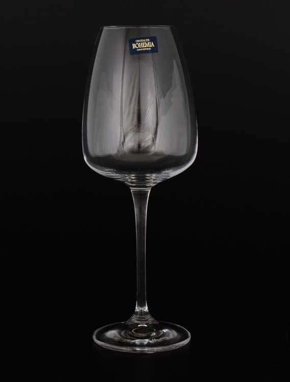 ALIZEE Набор бокалов для вина Crystalite 440 мл (6 шт)