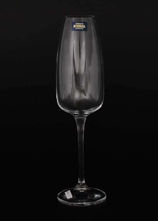 ALIZEE Набор фужеров для шампанского 290 мл Crystalite (6 шт)
