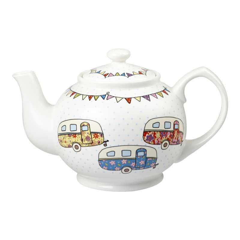 Караван Заварочный чайник Churchill Фестиваль от The Caravan Trail Англия