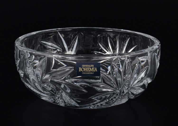 PINWHEEL Конфетница Crystalite Bohemia 14 см