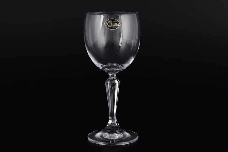 NICOLI Набор бокалов для вина Crystalite 175 мл (6 шт)