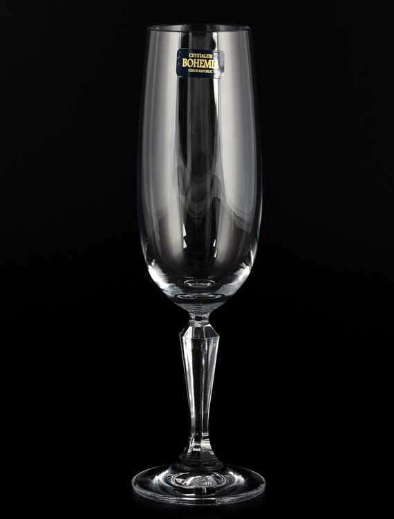 NICOLI Набор фужеров для шампанского Crystalite 180 мл (6 шт)