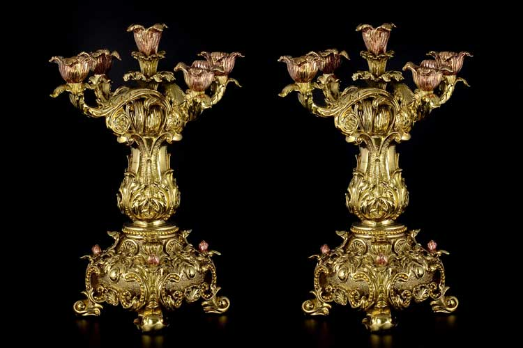 Подсвечник Royal Classics 2 шт Фарфор Китай