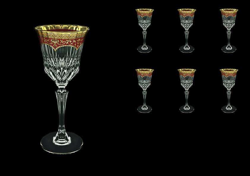 Версаче Глава Лаура Набор для вина Astra Gold 6 шт 220 мл красный