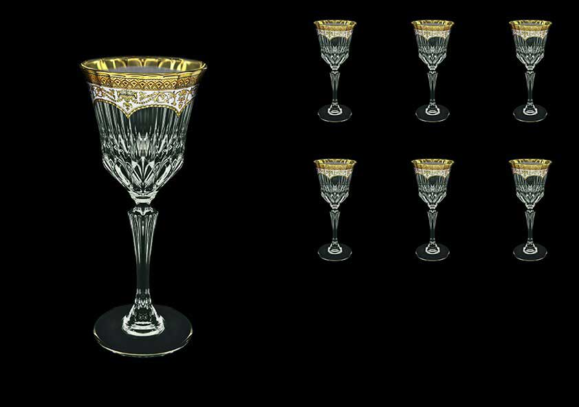 Версаче Глава Лаура Набор для вина Astra Gold 6 шт 220 мл белый