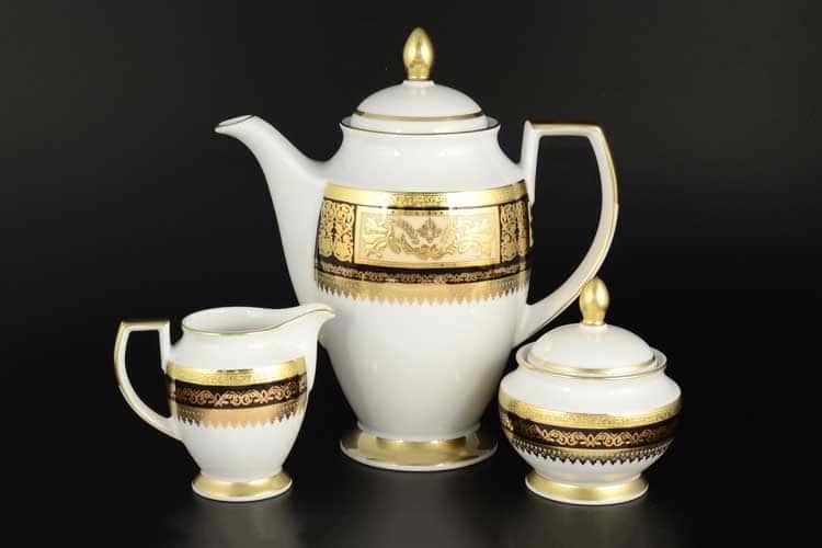 Diadem Black Creme Gold Кофейный набор Falken из 3 предметов