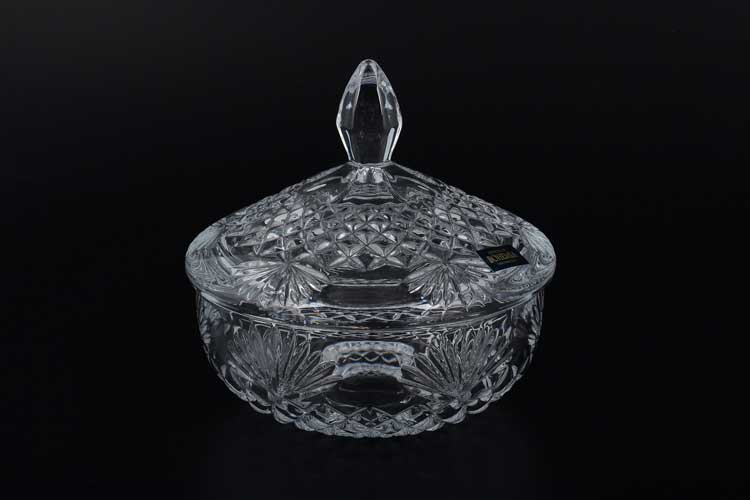 VEGA-NOVA Ваза для конфет Crystalite Bohemia 15 см