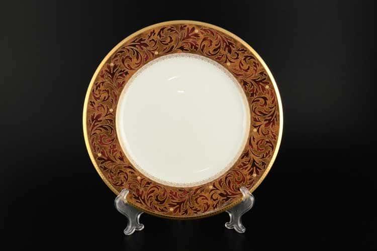 Ксавье золото Набор 6 тарелок Noritake 27 см