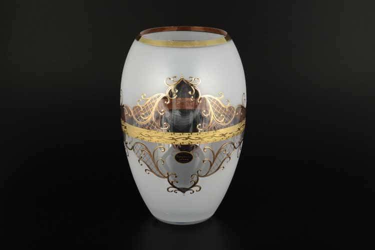 Версаче Богемия B-G фон Ваза для цветов Balvinglass 25 см
