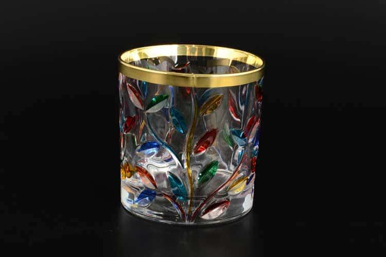 Due Zeta Лаурус Набор стаканов 6 шт золото