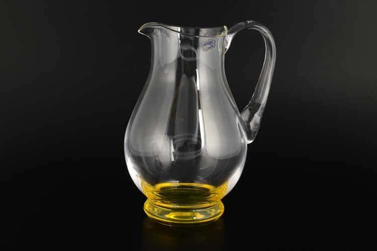 Кристалекс Графин 1,5 л желтый Bohemia Crystal