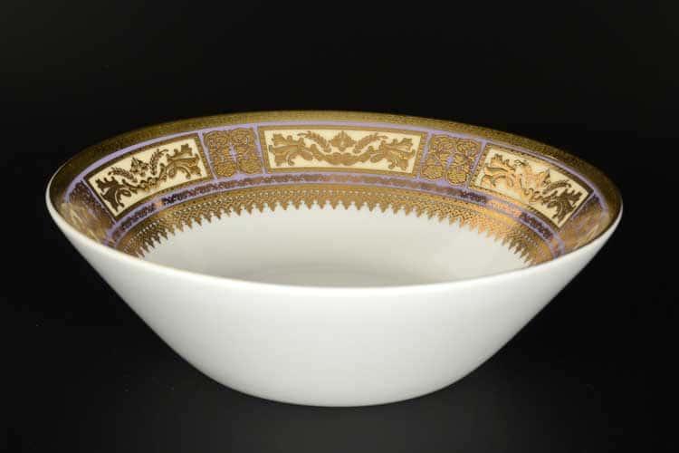 Diadem Violet Creme Gold Набор салатников Falken 18 см (6 шт)