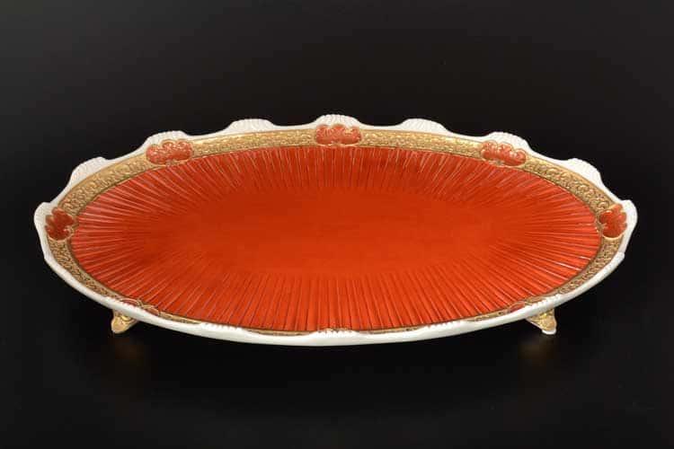 CATTIN красный Поднос круглый 42 см