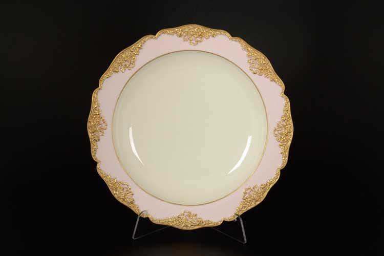 CATTIN розовый Набор тарелок из фарфора 26 см (6 шт)
