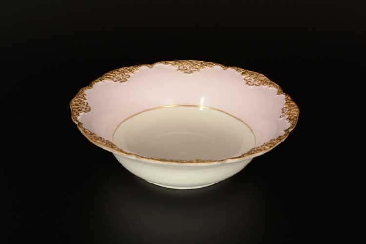 CATTIN розовый Набор салатников 20 см из фарфора (6 шт)