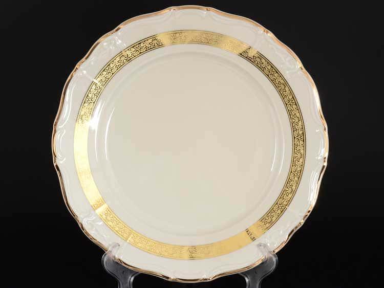 Мария Луиза IVORY 8800310 Блюдо круглое Thun 30 см