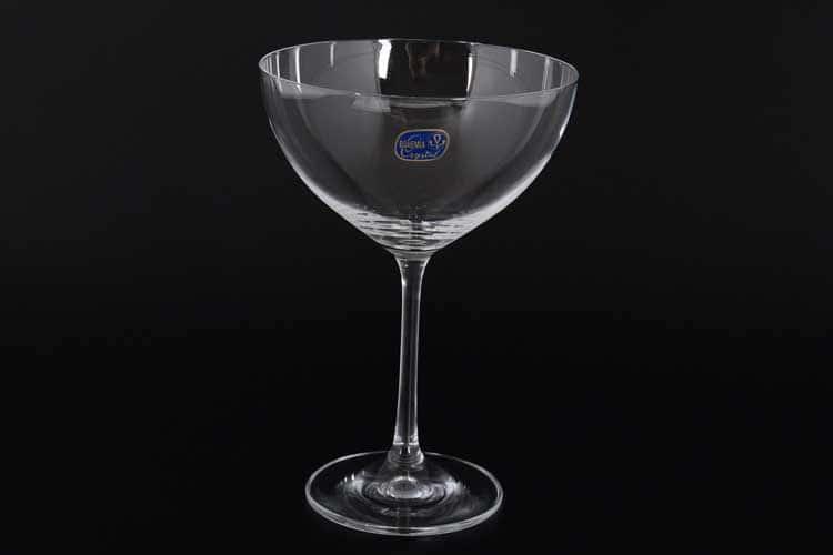 Waterfall Набор креманок для мартини Bohemia Crystal 340 мл 4 шт